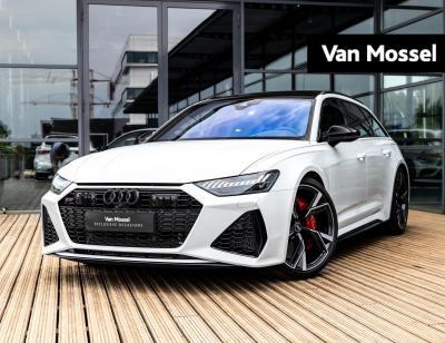 Audi RS6 Avant 4.0 TFSI Quattro 600pk | Dynamic Plus | HuD | Panoramadak | B&O Audio | Keramisch | Zwart Optiek | Supersportstoelen | NP 244.800,-